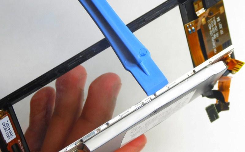 замена стекла экрана телефона